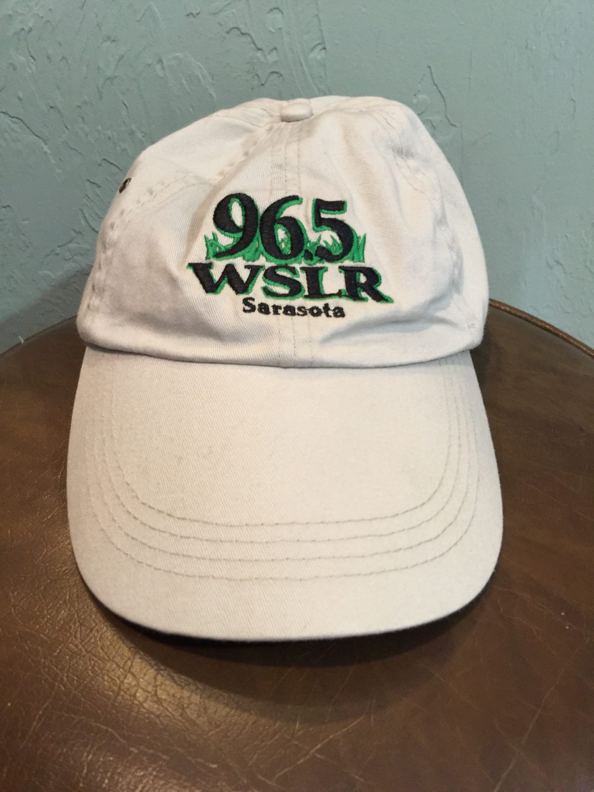 WSLR baseball cap, light tan