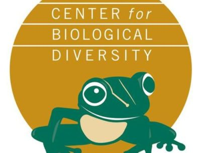 center for biological diversity logo with frog