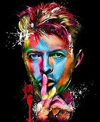 bowie colorful