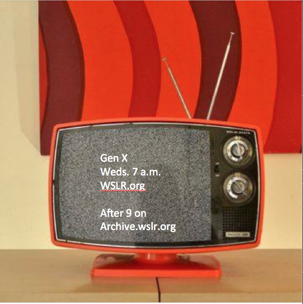 tv screen with Gen x ad