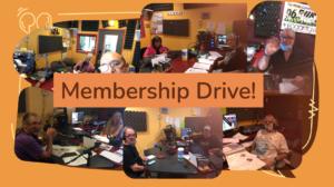 Membership Drive Fall 2021
